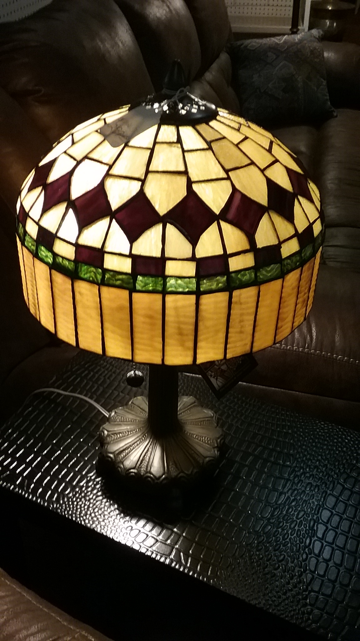 Tiffany Lamps at Bridgmans Furniture